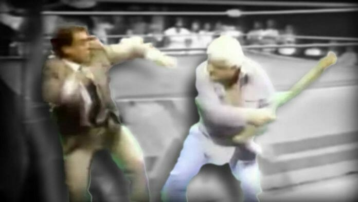 Magnum TA had just come back from a near-fatal car accident when he made some comments about Tully Blanchard. Blanchard came out and sucker-punched Magnum, which caused Dusty Rhodes to come out with a baseball bat and beat Tully Blanchard to near death on live television.