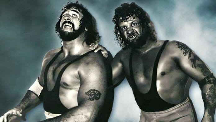Butch and Luke of The Bushwhackers, then known as The Sheepherders.