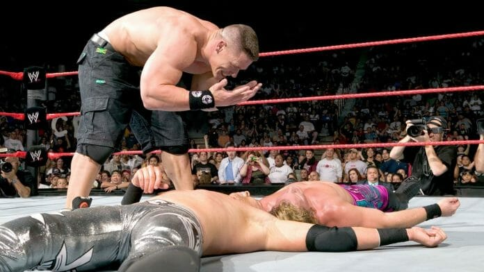 "The infamous catchphrase ""You can't see me!"" by John Cena has been given the meme treatment over the years. Here is the backstory behind this catchy yet bizarre catchphrase."