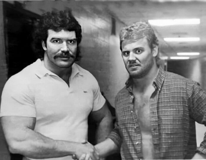 The friendship of Scott Hall and Curt Hennig goes back to their days in the AWA.