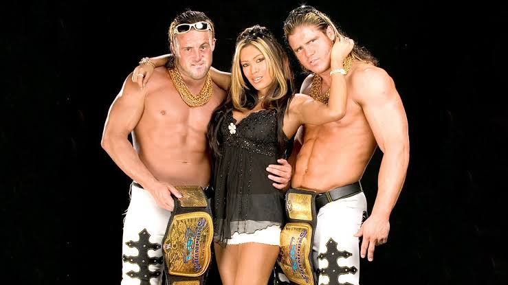 MNM: Joey Mercury, Melina, and Johnny Nitro