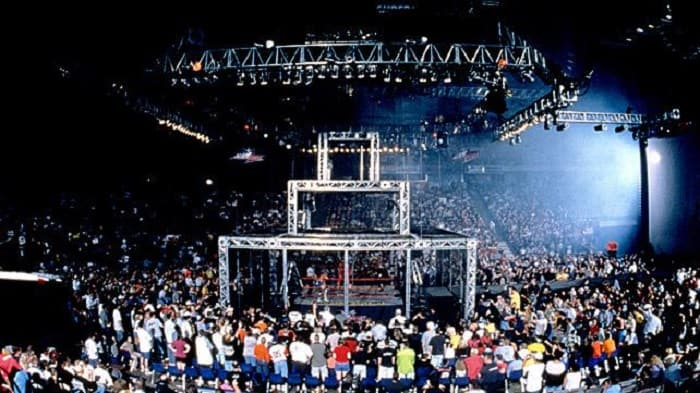 The Three Cage steel cage match debuted for the first time at 1988's Great American Bash
