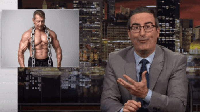 Despite pointing out WWE's flaws in a 20-minute segment on his show in early April of 2019, John Oliver identifies himself as a wrestling fan