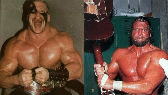 There was real-life animosity between Road Warrior Hawk and Macho Man Randy Savage and on two occasions the two got into heated fights.
