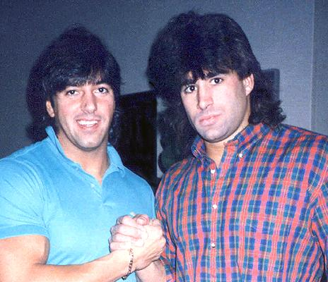 Rick Martel and Tom Zenk. Fans were robbed of seeing this once-promising tag team rise to prominence.