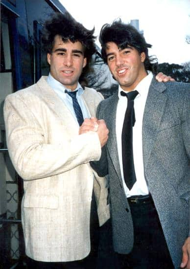 Tom Zenk and RIck Martel of Can-Am Connection while in Japan