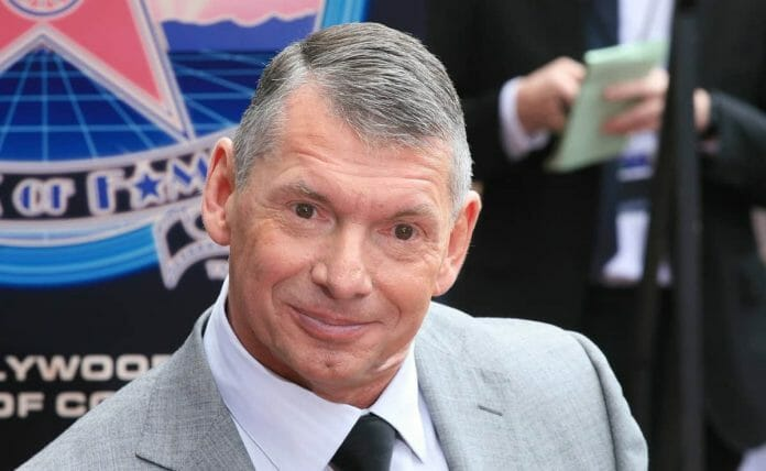 Chairman and CEO of WWE, Vince McMahon