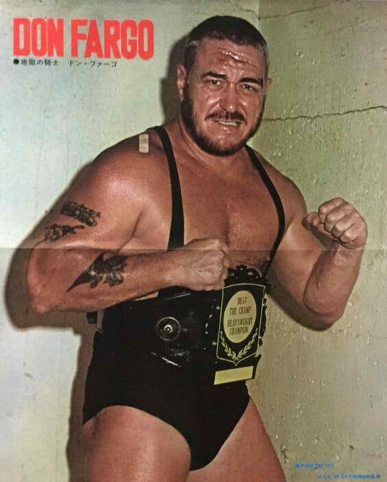 A young Don Fargo.