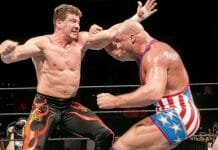 Kurt Angle and Eddie Guerrero - Their Heated Backstage Fight