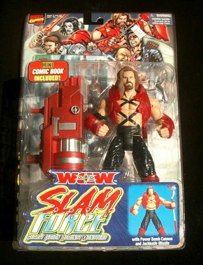Kevin Nash from the S.L.A.M. Force [Secret Legion Against Monsters] toy line