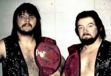 The tough team of Ron Dupree and Chris Colt - a tag team in the ring, and real-life partners outside of it.