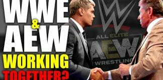 Are WWE and AEW working together?