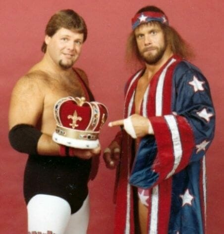 Jerry Lawler and Randy Savage had a memorable feud in the late 1970s and early '80s that came to fruition in quite the unorthodox way.