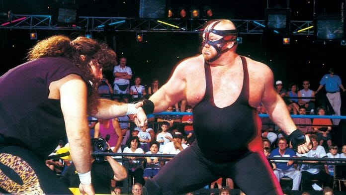 Big Van Vader ferociously attacks the face of Cactus Jack in their first encounter on April 17, 1993. Mick Foley holds huge respect for Big Van Vader and wants him in the WWE Hall of Fame.