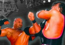 Bret Hart and Goldberg - The Kick That Ruined Bret's Career