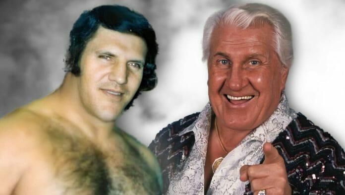Legends of professional wrestling: Bruno Sammartino and Freddie Blassie.