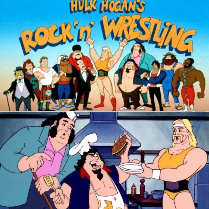 Hulk Hogan's Rock 'n' Wrestling, a Saturday morning cartoon on CBS which ran from 1985-1986.
