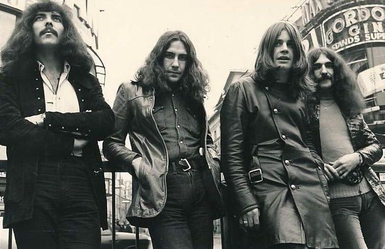 Ozzy Osborne with Black Sabbath is considered one of the first Heavy Metal bands.