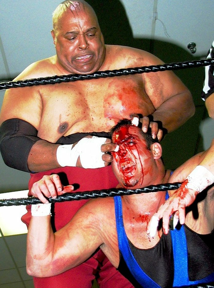 Abdullah The Butcher, one of the most feared and most controversial figures in all of pro wrestling.