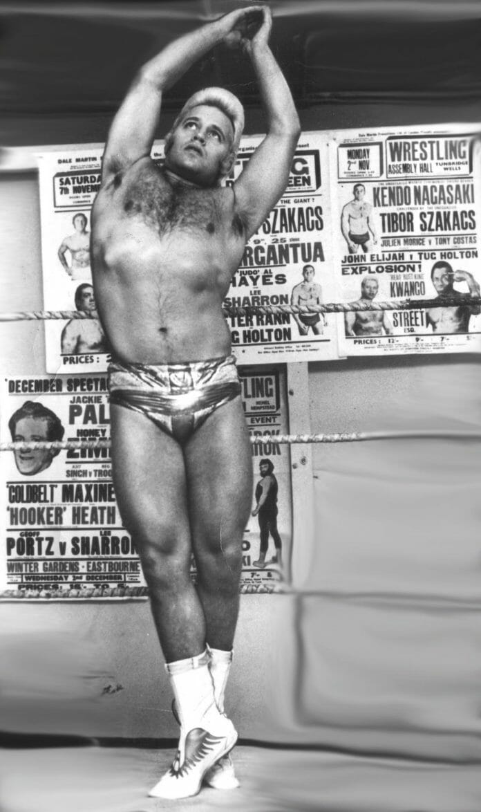 Adrian Street starting to differentiate himself from his contemporaries, shades of Buddy Rogers. [Photo taken by Kerry William Purcell]