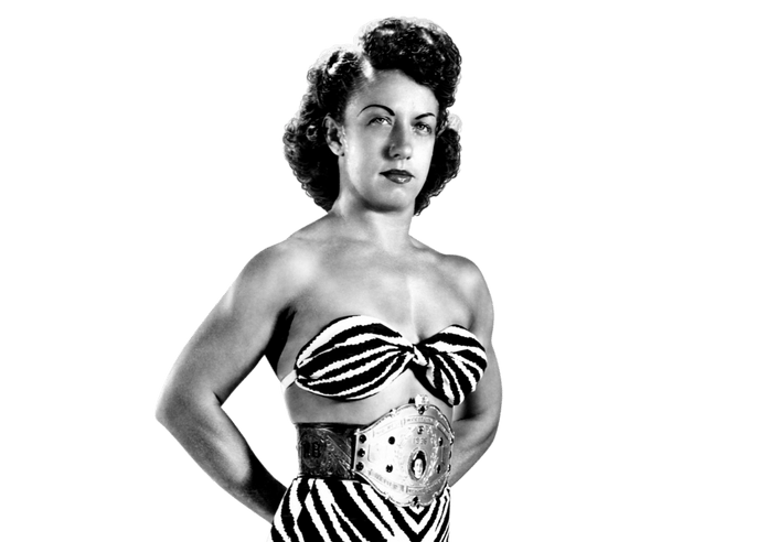 Champion and wrestling legend Mildred Burke stood head over shoulders in an era filled with gimmick wrestlers and sideshow acts.