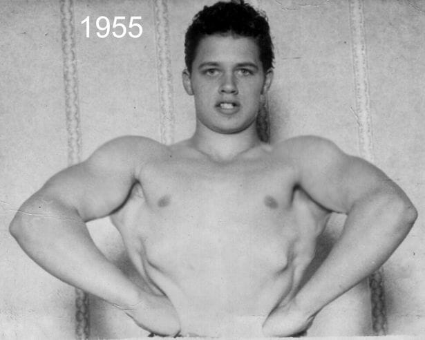 A handsome and athletic Adrian Street would start wrestling under the name Kid Tarzan Jonathan in 1955.