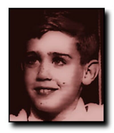 Andy Kaufman as a child
