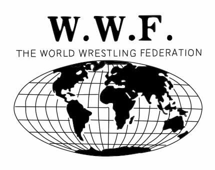 The original World Wrestling Federation logo from 1979