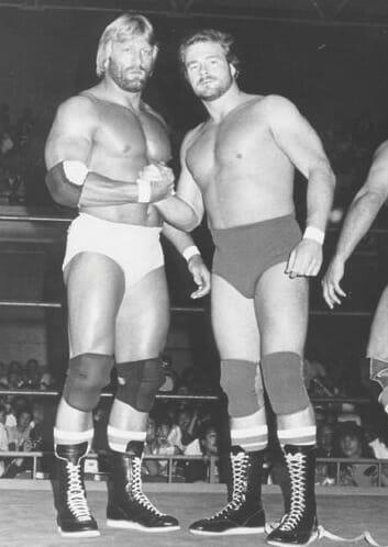 Paul Orndorff and B. Brian Blair.