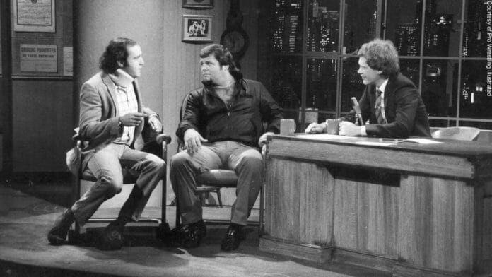 The sitdown on The Late Show to air their differences just caused the Andy Kaufman and Jerry Lawler rivalry to become more heated, and the fans just loved it. Most believed there was real heat between them.