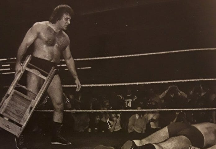 The heel turn and the chair shots heard around the world. Fans stunned by Larry Zbyszko and his merciless treatment of his mentor and friend, Bruno Sammartino.