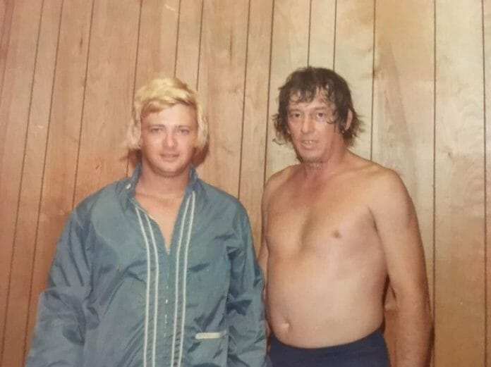Jerry Jarret (left) seen here with Eddie Marlin denies any involvement in the attack on Jack Donovan.