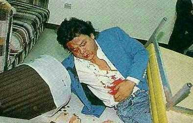In 1990, Atsushi Onita was 'stabbed' by José González in an FMW angle that almost killed the promotion. As Bruiser Brody had been a big star in Japan, Onita wanted to capitalise on it with an angle.