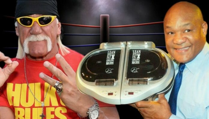 Foreman Grill - Originally Meant For Hulk Hogan?