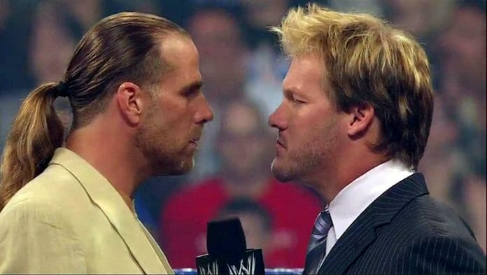 Shawn Michaels and Chris Jericho, SummerSlam 2008.