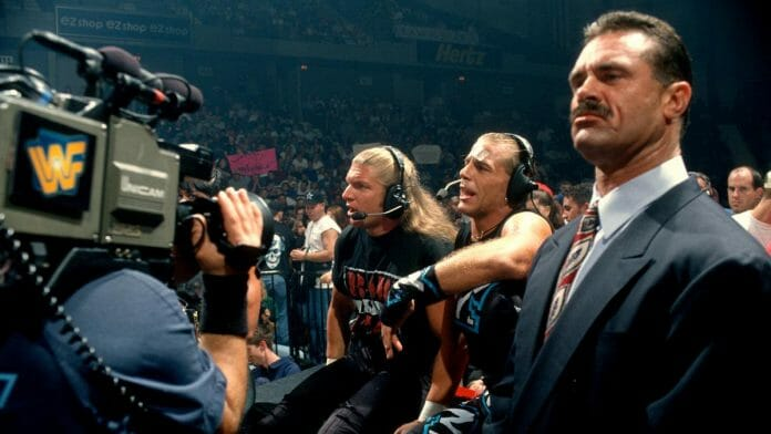 Triple H, Shawn Michaels, and Rick Rude before DX even had a name, September '97.