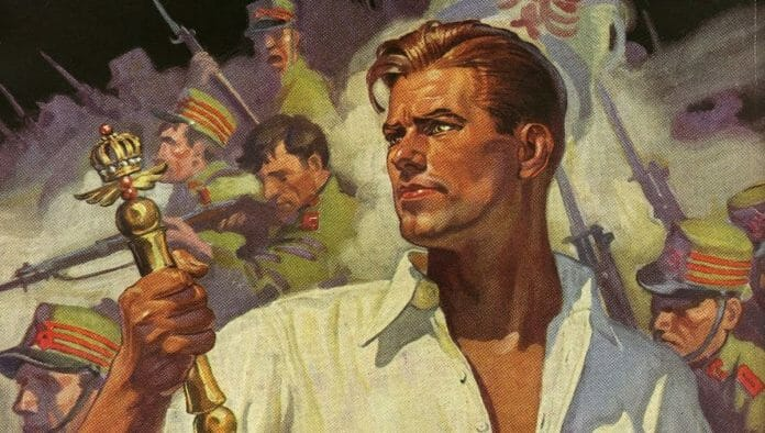 While not confirmed, some people believe that pulp hero Doc Savage's origins are similar to Mil Máscaras'. You can decide for yourself.