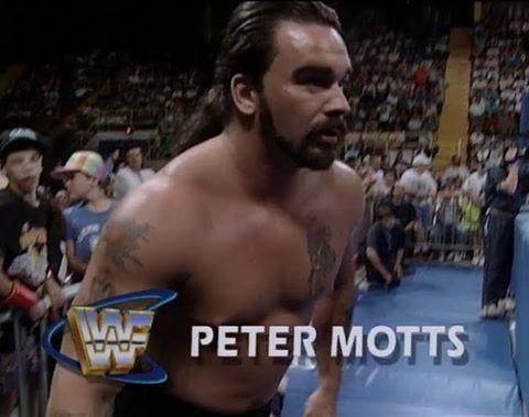 Perry Saturn on WWF Superstars as Peter Motts