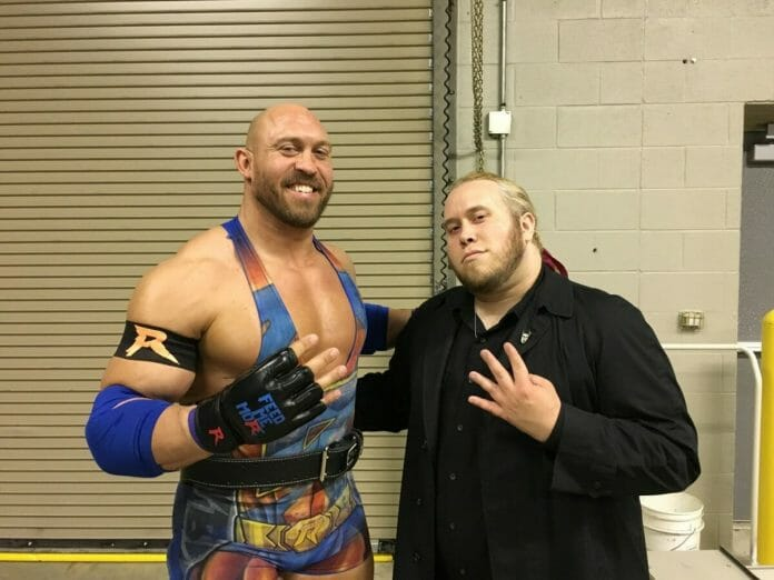 Ryback and Jason Saint recreate a 2006 photo in 2017