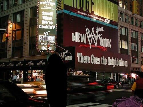 WWF New York restaurant (The World) | Nostalgic Wrestling Photos