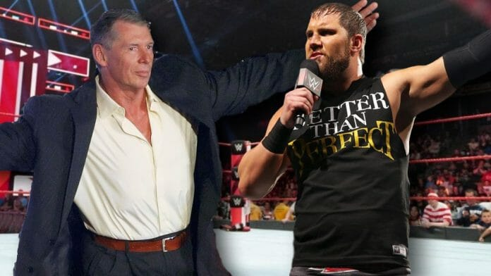 Curtis Axel, while being 'Better than Perfect', was he man enough to stand up for himself against his boss, Vince McMahon?