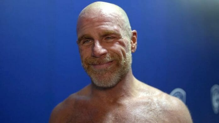 Shawn Michaels bald.