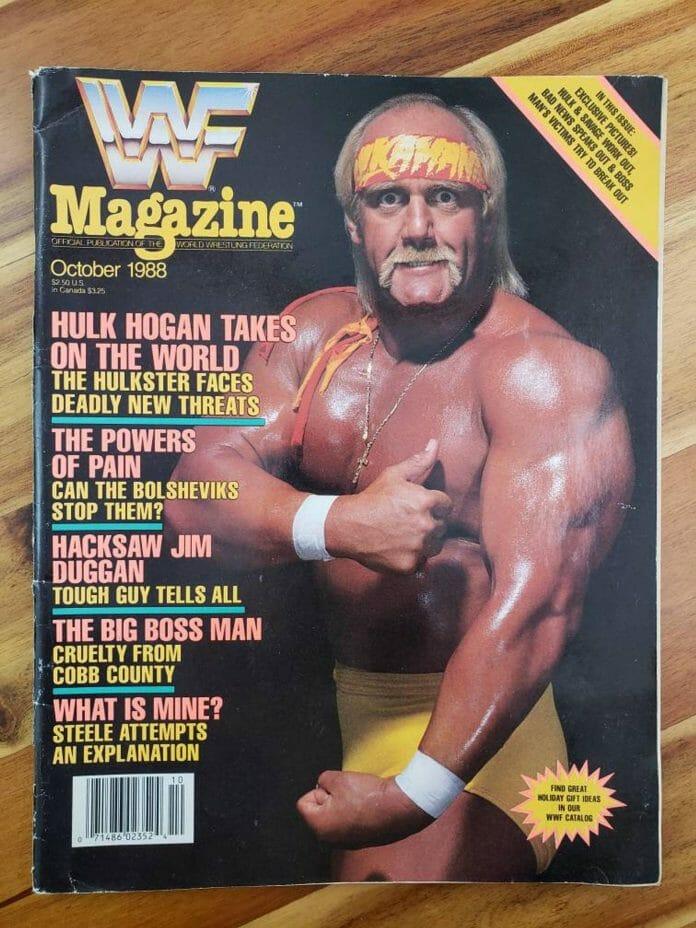 Nostalgic Wrestling Photos - WWF Magazine