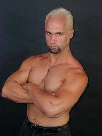 Bleach blonde Christopher Daniels