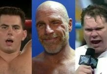 These usually long-haired wrestlers sporting short hair is a sight to behold!