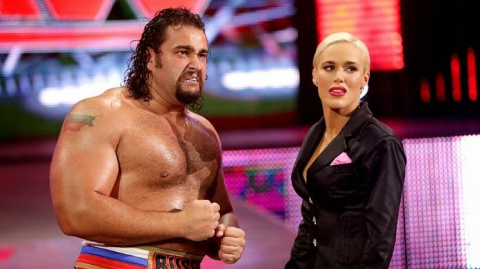 WWE's international baddies Rusev and Lana took inspiration from Ludmilla and Dolph Ivan Drago from Rocky.