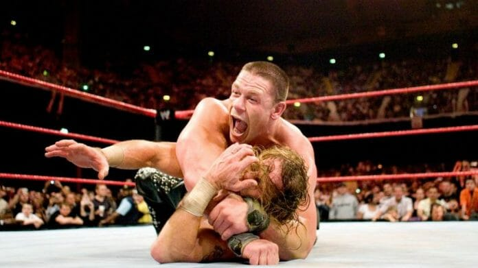 John Cena and Shawn Michaels went toe-to-toe for an exhausting 55 minutes in London, England.