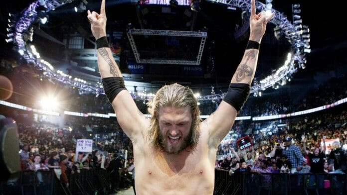 Edge returns at 2010's Royal Rumble and breaks a record in the process.