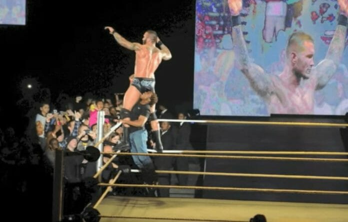 Randy Orton was attacked by an overzealous South African fan in Cape Town. July 31, 2013.