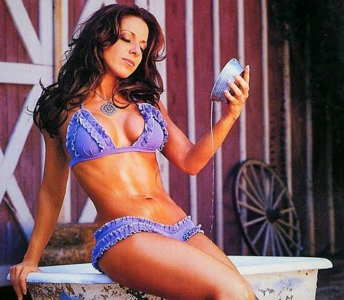 Dawn Marie, here as a WWE diva.
